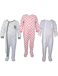 Teddy's Choice 100% Cotton Multi color 3 Combo Kid's Romper for 9-12 Months :Modle-018