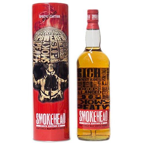 Smokehead Rock Edition II + GB 700ml 46,6% Vol.
