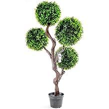 Geko N0004 - Arbusto artificial, color verde