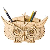 GSYDPT DIY 3D Holz Eule Puzzle Spiel Geschenk & Stifthalter & Kinder Aufbewahrungsbox Kid Friend Modellbau Spielzeug Kits