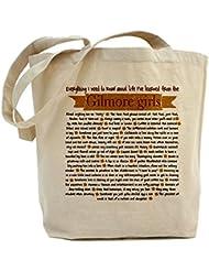 CafePress - Bolsa de tela, diseño de Las chicas Gilmore con texto en inglés