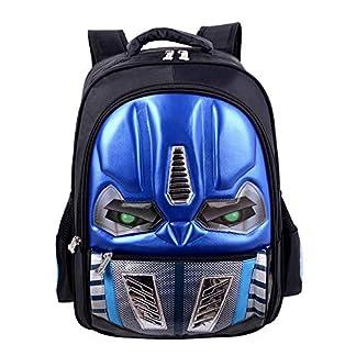 JIANGUO Mochila para Niños Transformers Mochila Escolar Ligera Y Resistente Al Agua 3D Resistente Al Desgaste De Gran Capacidad para Niños Y Niñas