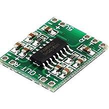 DC 5V amplificador digital de clase D Junta 2 * Potencia Mini PAM8403 Módulo de Audio USB 3W