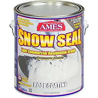 AMES RESEARCH LABORATORIES SSC1 Snow Seal Gallon Roof Coating White by Ames