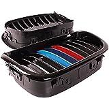 Grille avant Pour BMW - SODIAL(R) Noir brillant M Grille avant Pour BMW M5 E39 525i Serie 5 97-03