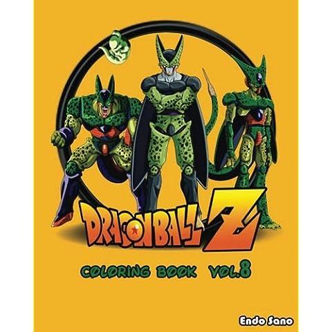 DragonBall Z : Coloring Book : Series (Vol.8): Coloring