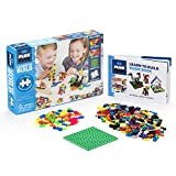 Plus Plus 52238 Konstruktionsspielzeug-Mini Basic 600-Learn to Build