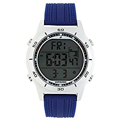 Fastrack Mens Blue Strap Digital Watch