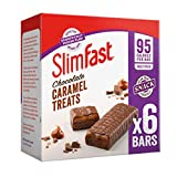 SlimFast Chocolate Caramel Snack Bar Multipack, Box of 30 Bars