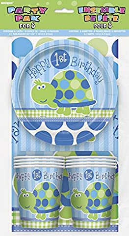 Unique Party Turtle 1st Birthday Party Pack