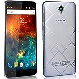 """CUBOT Max - Smartphone Libre 4G Android 6.0, (Pantalla táctil 6.0"""" HD, 4100mAh batería, 3GB Ram + 32GB ROM, Octa core, Dual SIM, Cámara 13Mp, 1.3 GHz), color Plata[ CUBOT OFICIAL ]"""