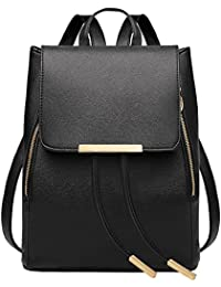 Auped Borsa a zainetto donna nero Black large