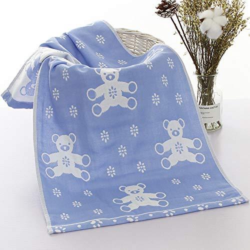 LIFEILONG 2 Stück fusselfreie, lichtechte Baumwolle für Erwachsene, saugfähiges Reinigungstuch, Jacquardtuch, A7 35 * 75 cm
