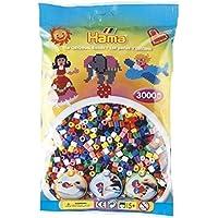 Hama 3000 Beads Solid Mix (Midi Beads) by Hama