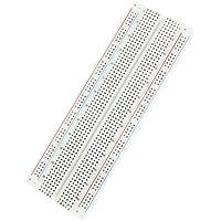 WINGONEER MB-102 830 saldatura plug-in BreadBoard 830 tie-punti 4 barre di alimentazione 6,5 x 2,2 x 0,3 a (165 x 55 x 9 mm)