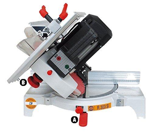 À Onglet pour bois pegic R 300 SE – Utilisation Professionnelle Disque Ø 300 mm