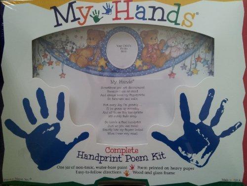 My Hands Complete Handprint Poem Kit by Frances Meyer