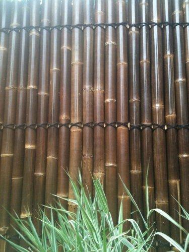 5-Pannello di recinzione in canne di bambù,