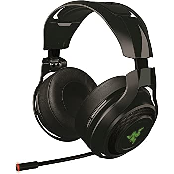 razer mano 39 war casque de jeu 7 1 son surround 7 1 sans fil wireless casque gaming pour pc mac. Black Bedroom Furniture Sets. Home Design Ideas