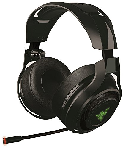 Sound Maus Set Mit (Razer Mano'war Gaming Headset (Over-Ear Kabelloser 7.1 Surround Sound, RGB Beleuchtet für PC, MAC und)