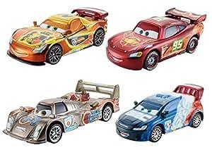 Disney Cars - Neon Racers 4 Voitures