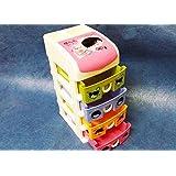Art box JEWELLERY BOX Cum UTILITY BOX/DRAWERS multi things keeper 4 drawer set (large)