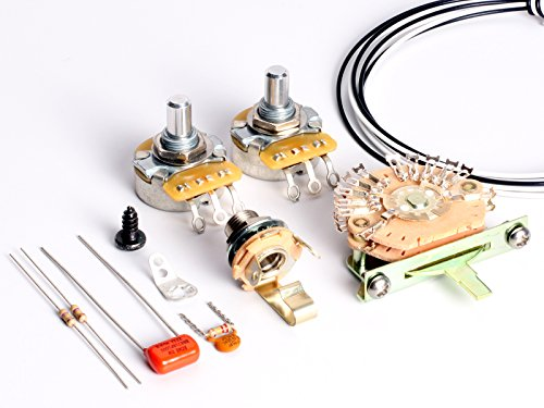 toneshapers cableado Kit, Telecaster, HH1 (Big Apple – requiere 4-conductor pastillas Humbucker)