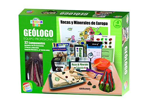 Cefa Toys- Equipo Profesional de Geólogo Stream CEFA, Color (21833)