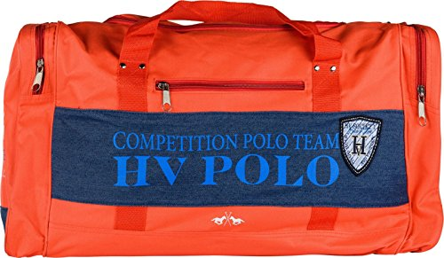 HV POLO Sporttasche Alva mit Denim Details Prints und Logo Sommer 2017 pepper