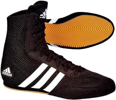 adidas Box Hog Shoes black / black / running white Size:6.5