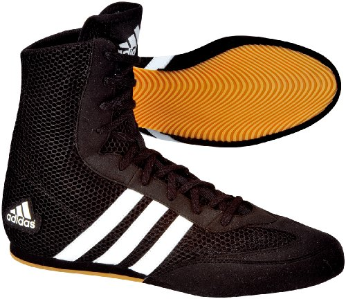 adidas Schuhe Box Hog, black / black / running white, 11.5, 116373