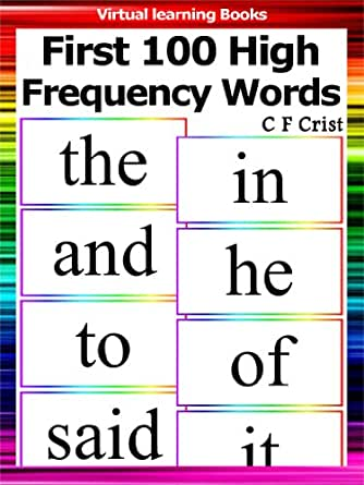 First 100 High Frequency Words Individual Flashcards Learn To Read
