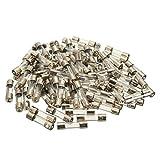 Conjunto de fusible de tubo - TOOGOO(R)100 piezas 5x20mm conjunto de surtido de fusible de cristal de tubo de golpe rapido, rapido - fusibles de vidri