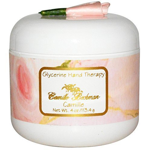 Camille Beckman Glycerin (Camille Beckman Glycerine Hand Therapy Cream 4 oz - Signature Camille Scent by Camille Beckman)