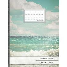 """Bullet Journal • A4-Format, 100+ Seiten, Soft Cover, Register, """"Mittelmeer Reise"""" • Original #GoodMemos Dot Grid Notebook • Perfekt als Tagebuch, Zeichenbuch, Kalligraphie Buch"""