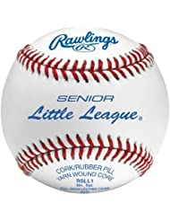 Rawlings Senior Little League Competition Grade Baseballs (One Dozen) by Rawlings Sporting Goods