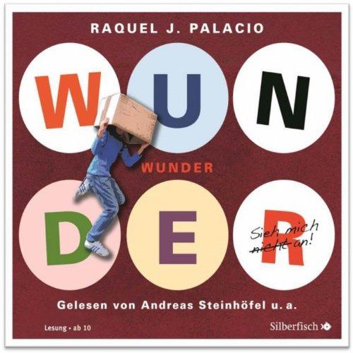 Buchseite und Rezensionen zu 'Wunder' von R. J. Palacio