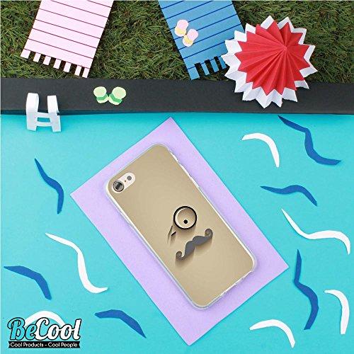 BeCool®- Coque Etui Housse en GEL Flex Silicone TPU Iphone 8, Carcasse TPU fabriquée avec la meilleure Silicone, protège et s'adapte a la perfection a ton Smartphone et avec notre design exclusif. You D1128