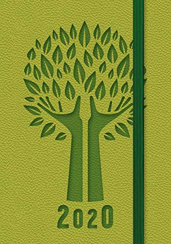 Agenda settimanale tascabile verde 2020 | 9 x 14 cm