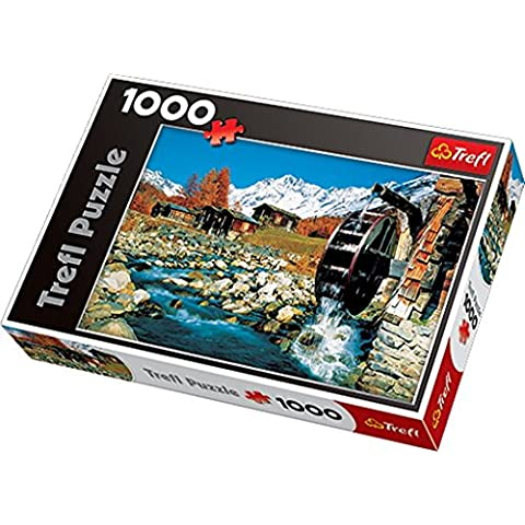 Trefl 10239 - Puzle (1000 piezas), diseño de Suiza