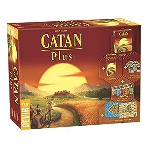 Devir – Catan Plus, juego de mesa (BGCATPLUS)