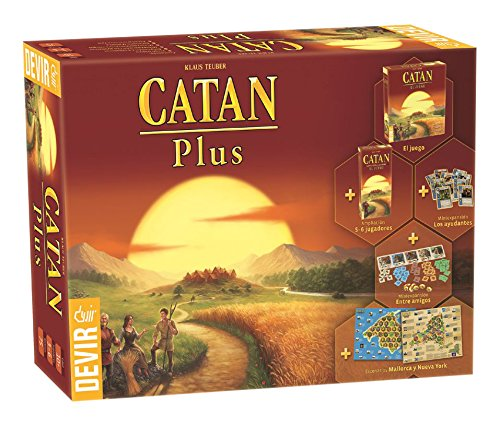 Devir - Catan Plus, juego mesa BGCATPLUS