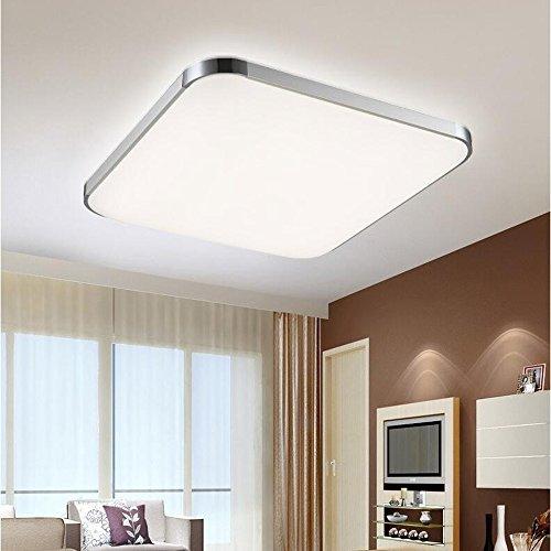 MCTECH 18W Bianco freddo plafoniera LED Moderna lampada da soffitto disimpegno soggiorno camera da letto della lampada 390 * 390 * 110 MM-[Classe di efficienza energetica
