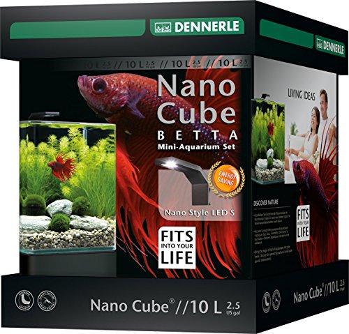 Dennerle Nano bettacube Stil Neue Zubehör LED für Aquaristik 10L Größe S - 2