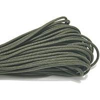MANGO-el 100ft cuerda de la supervivencia del paracaídas de Paracord de 550 cuerdas - verde oliva