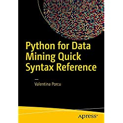 Python for Data Mining Quick Syntax Reference