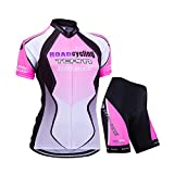 ELEAR® Damen Fahrrad Trikot Radtrikot/Radhose Trägerhose Anzüge Fahrradbekleidung OutdoorTrikots