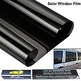 Pellicola oscurante per vetri auto, riduce la luce solare, universale, schermo universale contro raggi UV, pellicola in vinile per la privacy e riduzione del calore, anche per decorare casa e ufficio, 3m x 50cm