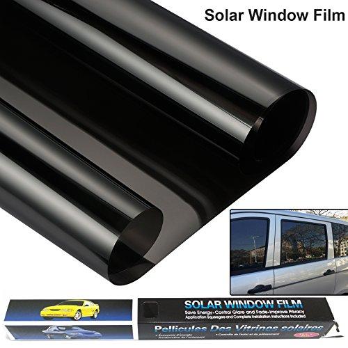 Película de vinilo universal de cristal UV para privacidad y reducción de calor, para ventanas del coche, o para decoración del hogar, oficina (3 m x 50 cm)