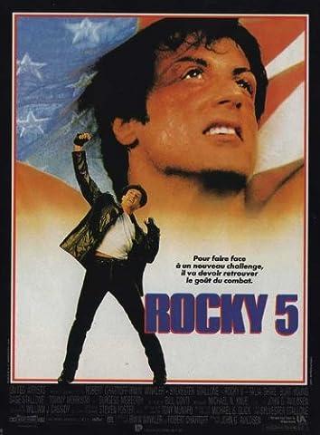 Rocky 5 Affiche du film Poster Movie Branlant 5 (11
